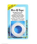 Collins Res-Q Cinta 1.9cm X 4.6mM Blanco - $7.53