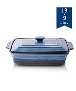 KOOV Ceramic Casserole Dish with Lid, Covered Rectangular Casserole Dish... - $68.99