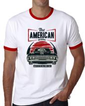 Alstyle Men Classic T-Shirt Cotton Crew Neck Short Sleeve Tee American Car S-6XL - $18.99+