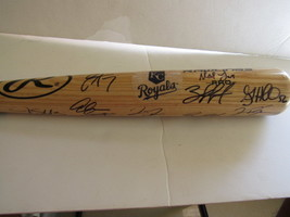 Kansas City Royals 2014 team signed bat - $332.00