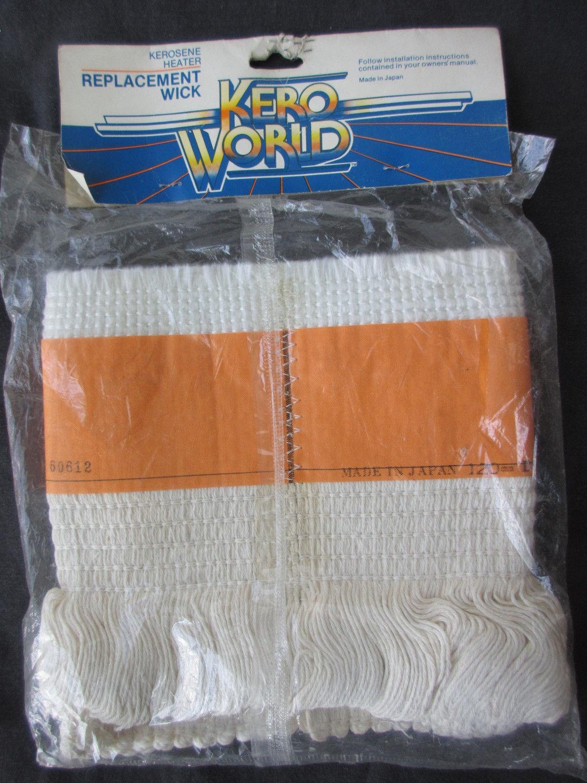 Kero World Kerosene Heater OEM Replacement Wick 11005 Japan NOS