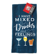 Chef's Quarters I Have Mixed Drinks about Feelings Kitchen Towel Set - $5.99