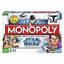 Monopoly Game Star Wars Collectible Family Boar... - $29.65