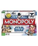 Monopoly Game Star Wars Collectible Family Board Science Fiction Toy Spa... - $31.73