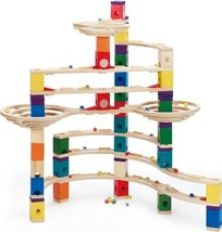 Hape Quadrilla Wooden Marble Run Construction - The Challenger - Quality Time Pl