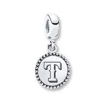 NEW Pandora Sterling Silver Texas Rangers MLB Baseball Dangle Charm - $35.52