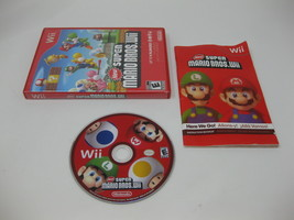 New Super Mario Bros (Nintendo Wii, 2009), COMPLETE with Manual - $18.21