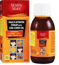 Seven Seas Multi-Vitamin Syrup With Cod Liver Oil 100ml - $20.48