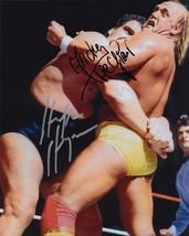 Hulk Hogan & Andre The Giant Signed Photo 8X10 Rp Autographed Wwe Wwf Wrestling - $19.99