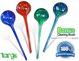 Watering Globes Large - 4pc Deluxe Set - $28.23