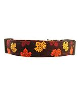 Fall Dog Collar - The Autumn Leaves - $17.96