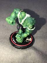 Heroscapes Super Hero Marvel Figure Game Piece Cake Topper Vintage Hulk - $14.85