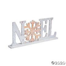 Winter Wonderland Noel Tabletop Sign - $32.98