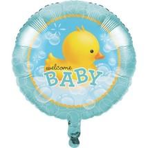 "Bubble Bath Duck 18"" Foil Balloon Baby Shower Rubber Ducky - $4.17"