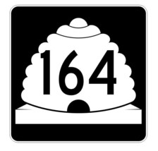 Utah State Highway 164 Sticker Decal R5485 Highway Route Sign - $1.45+