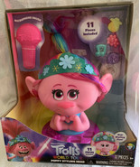 "NEW TROLLS DREAMWORKS WORLD TOUR POPPY STYLING HEAD 11pcs NIB 12"" - $31.99"