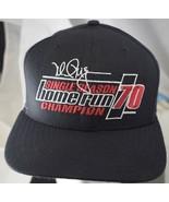 Mark McGwire Single Season Home Run Champion Baseball Cap Snapback Hat N... - $24.49