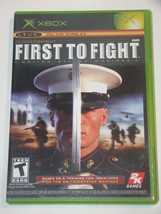 XBOX - FIRST TO FIGHT (Complete with Manual) - $15.00