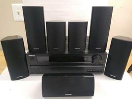 ONKYO HT-R380 5.1 Reciver Surround Sound Speakers And Subwoofer Bundle - $217.80