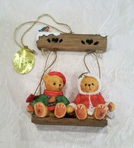 Enesco 1999 Brandford Edition # 68703 Teddy Ornament Twice As Nice With You - $9.99