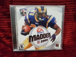 MADDEN 2003 PC GAME IN JEWEL CASE - $5.99