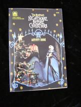 Disney Nightmare Before Christmas Activity Book Golden 1993 - $19.99