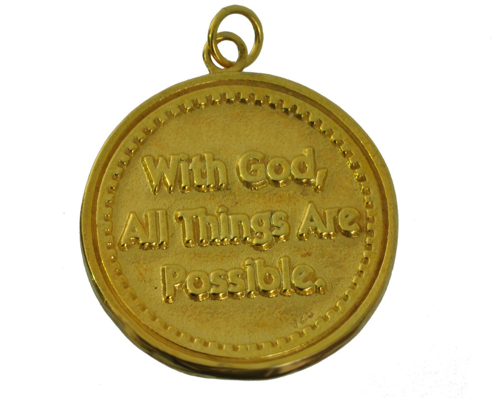 Skateboards Skateboard Deck Trust God safety Protect charm 24K Gold Pltd Jewelry