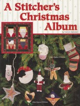 A Stitcher's Christmas Album, A Stitcher's Christmas Album, Patti Bachel... - $6.95