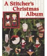 A Stitcher's Christmas Album, A Stitcher's Christmas Album, Patti Bachel... - $6.95