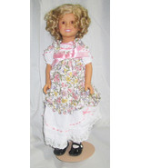 """Shirley Temple Doll with Extra Outfit Danbury Mint Porcelain 16"""" in Orig... - $39.00"""