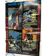 "SPIDER-MAN PUNISHER NICK FURY (1990) Marvel Comics 22"" x 34"" promotional... - £11.98 GBP"