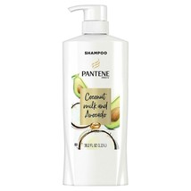 Pantene Coconut Milk and Avocado Shampoo 38.2oz Pump Bottle Paraben Free - $18.69