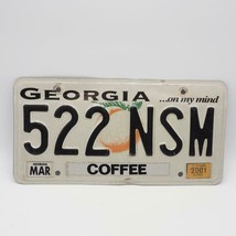 Georgia On My Mind State Car Vehicle License Plate - $9.89