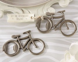 """Let's Go On an Adventure"" Bicycle Bottle Openers Set of 12 - $36.98"