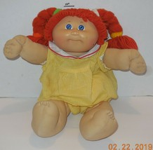 1985 Coleco Cabbage Patch Kids Plush Toy Doll Girl CPK Xavier Roberts OA... - $31.56