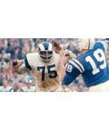 "David ""Deacon"" Jones #75 Rams Jersey All Custom Embroidered All Sizes - $59.90"