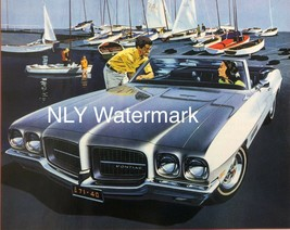 Vintage 1971 Pontiac Lamans Sport Car  Print Ad - $9.97