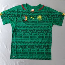Cameroon Home Jersey 2014 Puma Fans Version %100 Original - $39.00