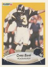 1990 Fleer #303 Chris Bahr - $0.50