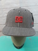 DC New Era  59FIFTY 5950 Fitted Cap Red White Blue Pinstripe 7 1/2 Hat  - $18.52