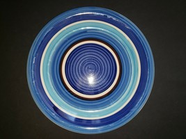 Royal Norfolk Blue Swirl Dinner Plate 10.5 inch - $18.99