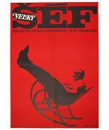 Movie Poster LE CERVEAU Jean-Paul Belmondo Bourvil 1973 Cinema Art Large... - $212.00