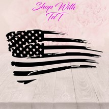 American Flag | Sticker Decal for windows, computers, flat surface - $5.00+
