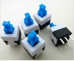 100PCS/LOT 8*8 Self Locking Switch 8mm x 8mm Miniature Self-locking Swit... - $7.93