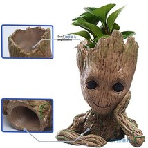 Creative Flowerpot Baby Action Figures Home Decoration Toy Cute Model Toy  - $21.49 CAD