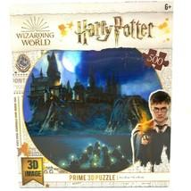 Harry Potter Puzzle 500 Pieces Hogwarts Castle 24 x 18 Jigsaw 3D Image - $32.76