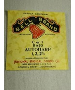 Bell brand AutoHarp Strings C or 1 bass 1, 2, 2 3/4 (a12-10) - $14.85
