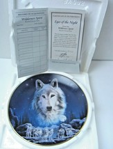 The Hamilton Collection Eyes of the Night Wilderness Spirit Plate1994 #4010A  - $21.49