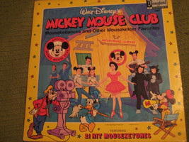 33RPM Vintage 1975 Original Mickey Mouse Club Walt Disney Annette Spin & Marty - $12.52