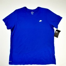 The Nike Tee Men's Athletic Cut T-shirts Size XL Rush Blue SZ14 - $19.79